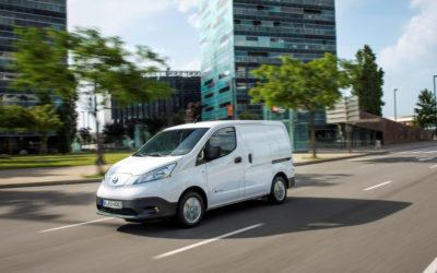 Nissan doblet det elektriske varebil-salget