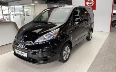 Nissan e-NV-200 Evalia. Praktisk el-bil med 5 seter