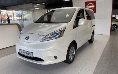 Nissan e-NV-200 Evalia. Praktisk el-bil med 7 seter
