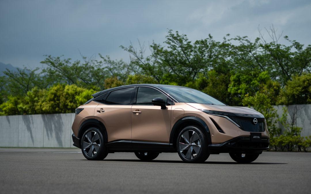 Nissan introduserer Ariya – neste generasjon elektrisk crossover